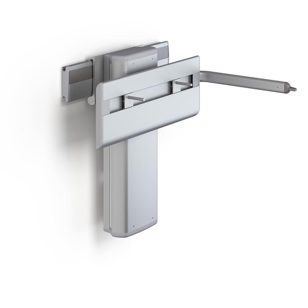 PLUS Waschtisch-Lifter mit Betätigungshebel, elektrisch höhenverstellbar og seitlich verschiebbar