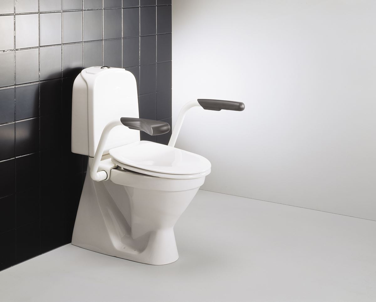 VALUE support arm for mounting on toilet