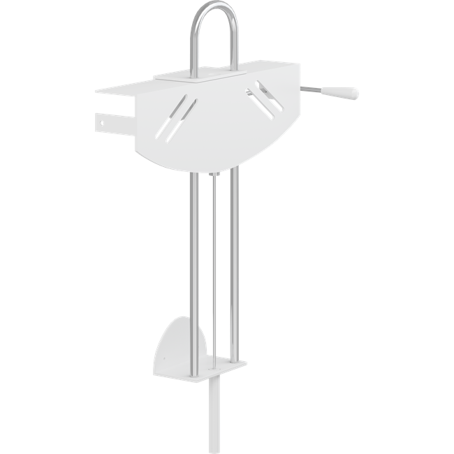 VALUE wash basin bracket, manually height adjustable with gas cylinder