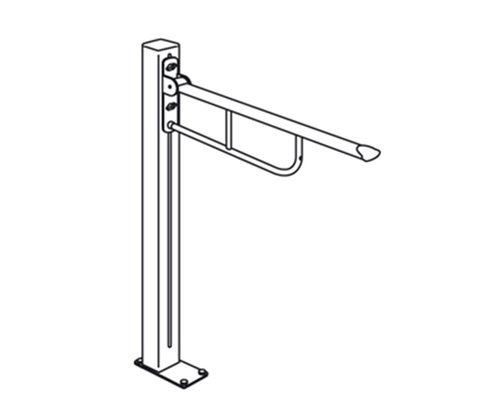 VALUE support arm on column