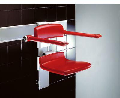 CareSystem duschstol 310, manuelt höjd- och sido reglerbar