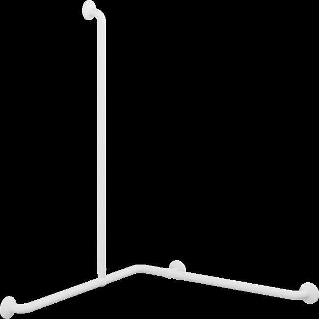 PLUS handrail corner with vertical grip 762 x 762 x 1090 mm