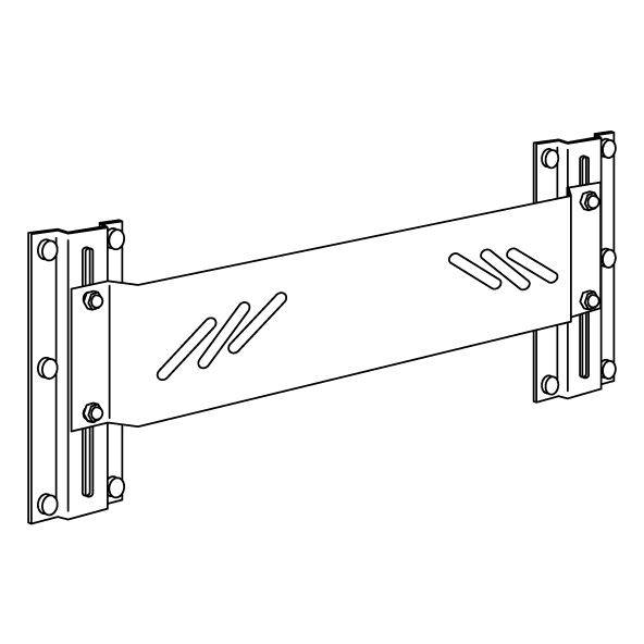 VALUE mounting plate, manually height adjustable