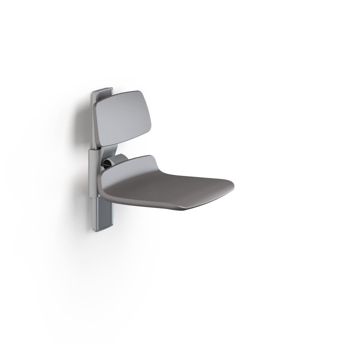 PLUS shower seat 450, manually height adjustable