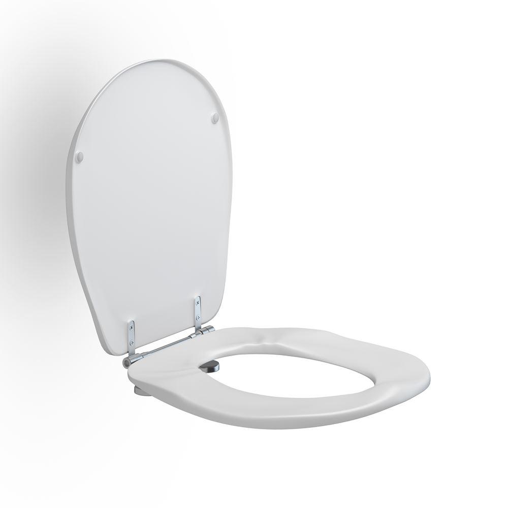 Toiletsæde Ergosit med låg