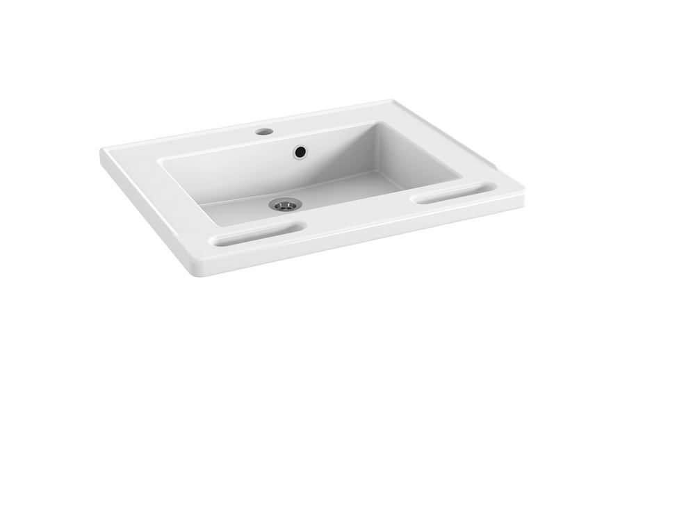 MATRIX SMALL wash basin with overflow