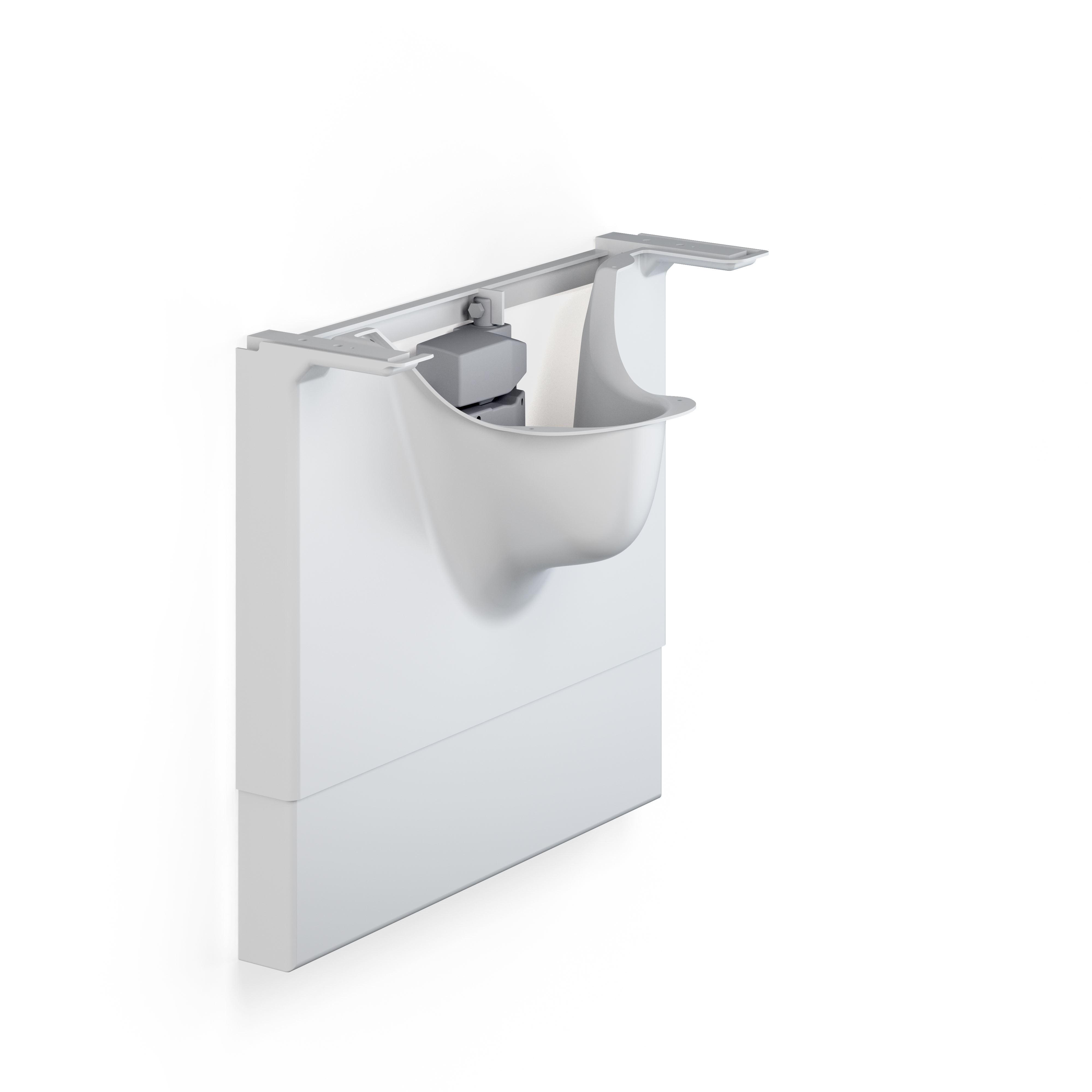 MATRIX powered basin unit, left-facing