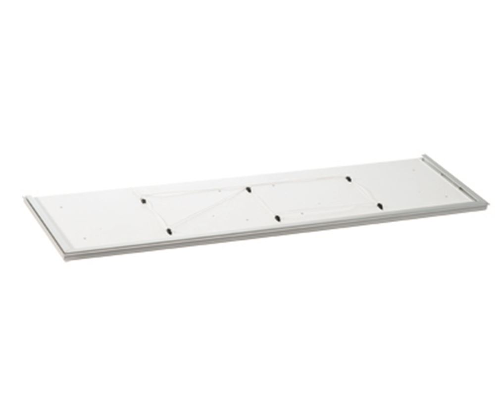 Safety plate for wall cupboards, lengths from 1201 - 2400 mm