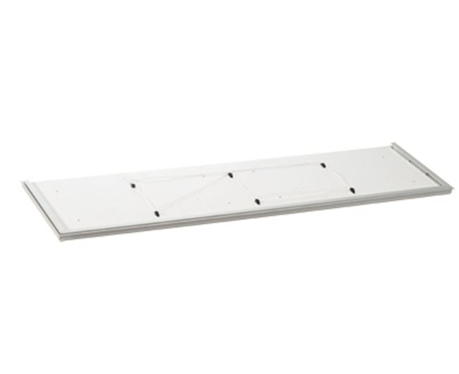 Safety plate for wall cupboards, length up to 1200 mm