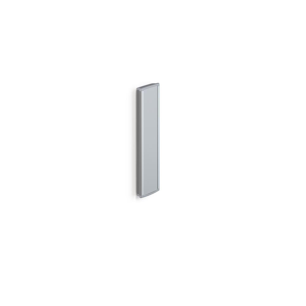 PLUS Wandschiene mit Rasterleiste, 600 mm. Für höhenverstellbare Duschsitzen und Klappsitzen