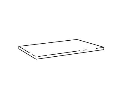 Changing table mattress 1350 mm