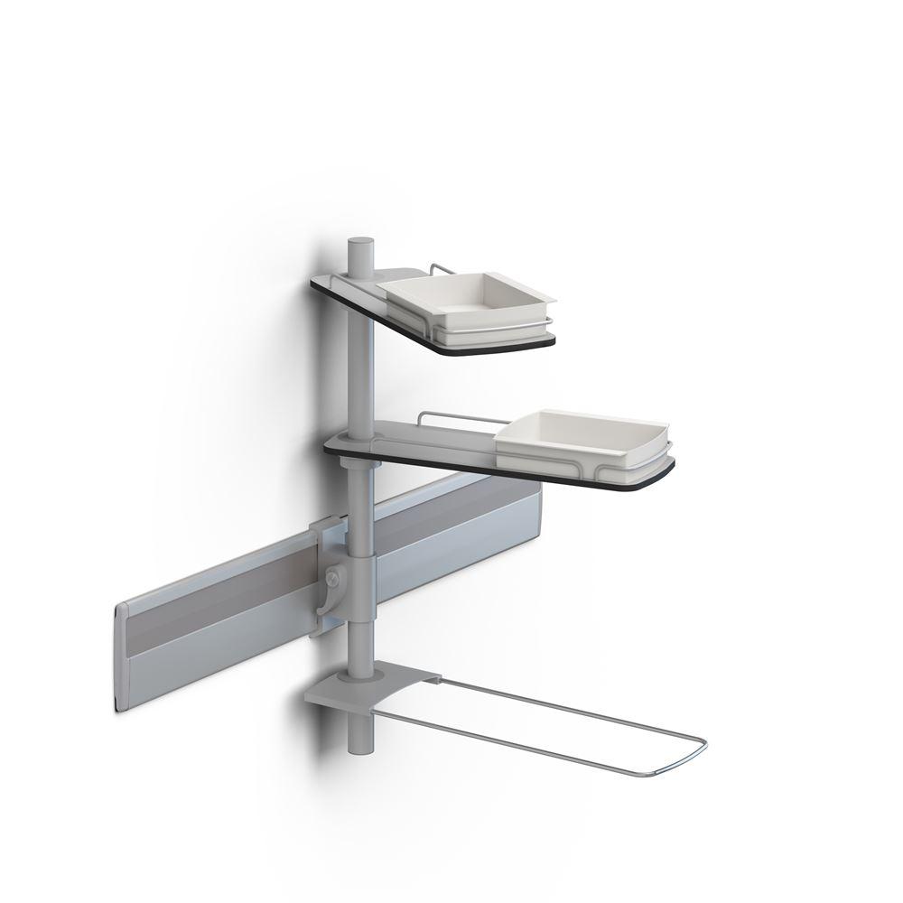 Modular shelves for PLUS walltrack, 600 mm rod