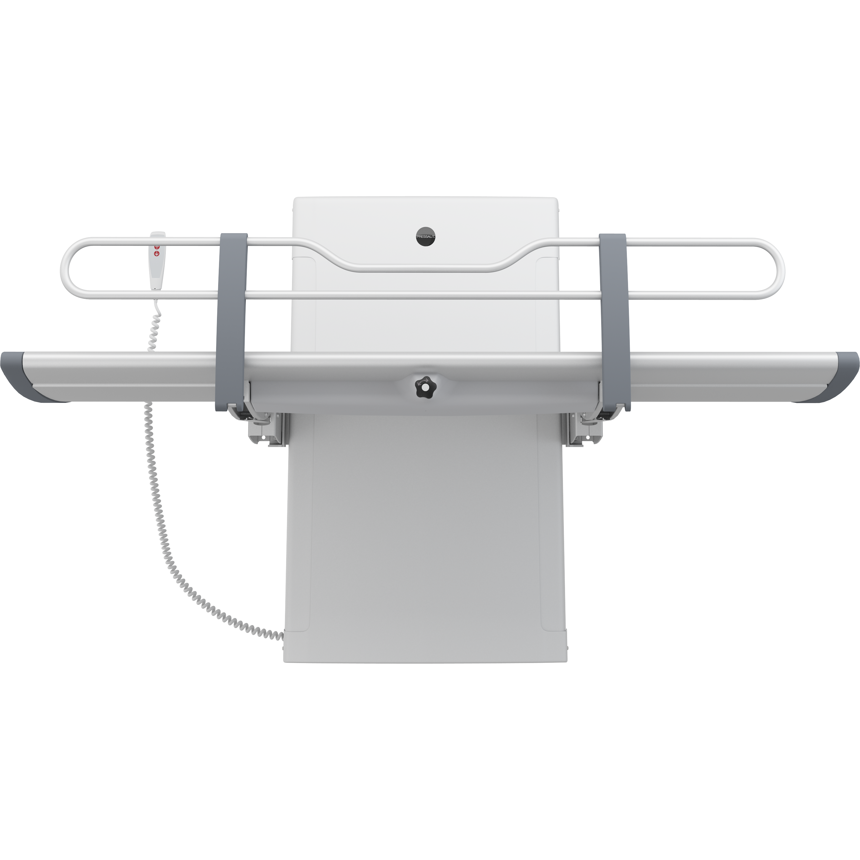 SCT 3000 shower change table, electrically height adjustable