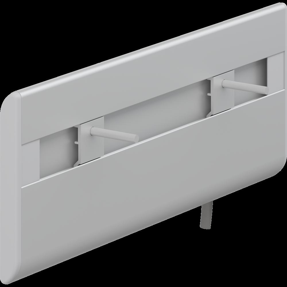 PLUS wash basin bracket, manually sideways adjustable