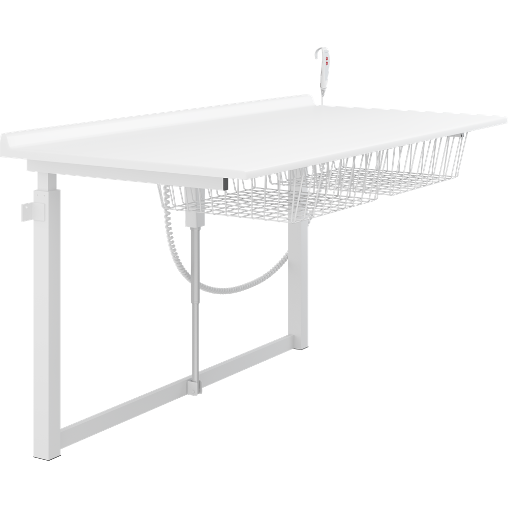 Changing table, 800 x 1800 mm, electrically height adjustable