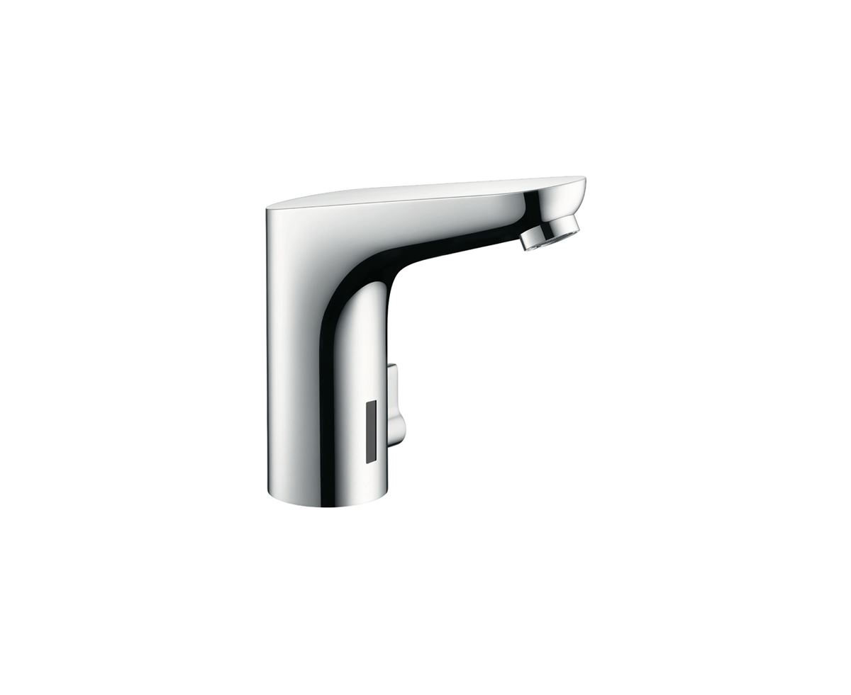 Touchless wash basin mixer tap