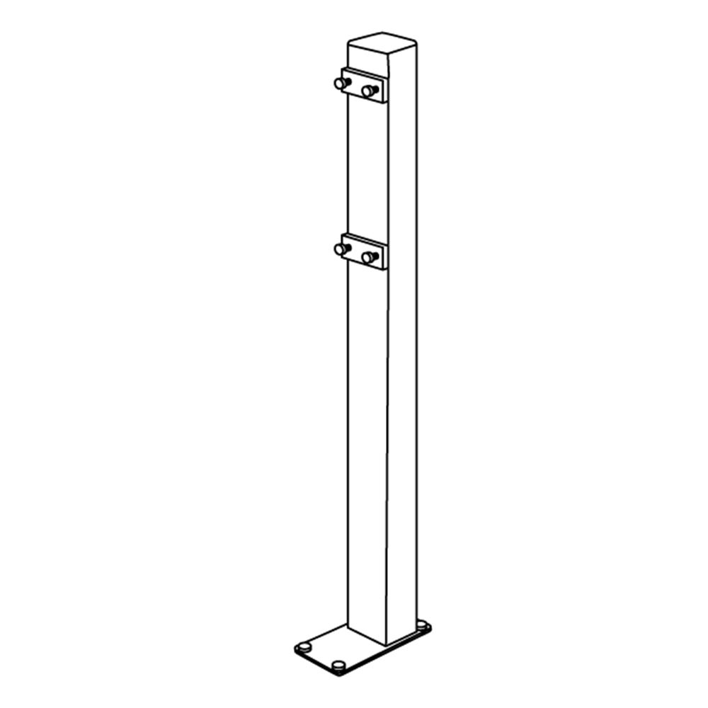 Freestanding column for height adjustable PLUS support arm