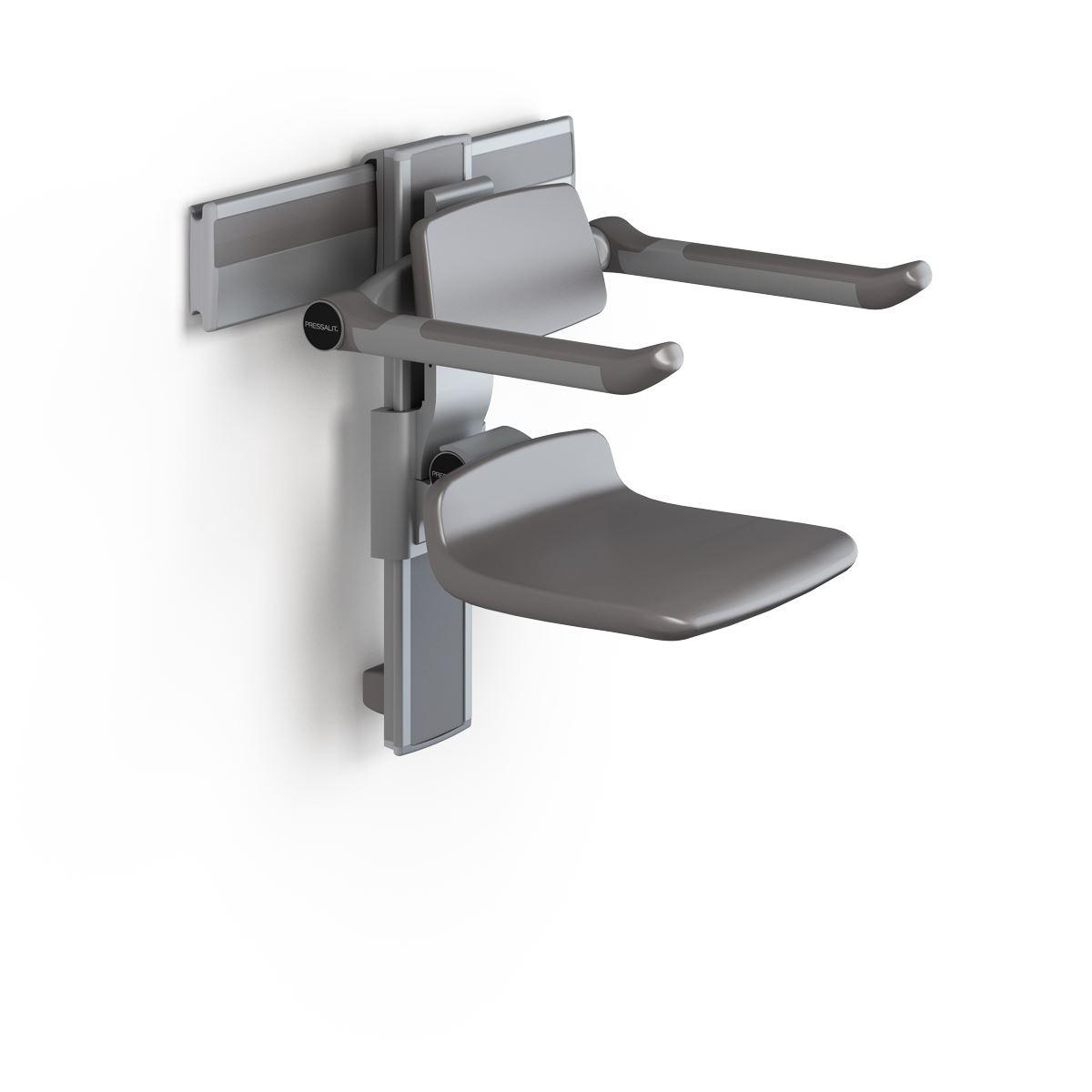 PLUS siège de douche 310, réglable en hauteur manuellement et latéralement