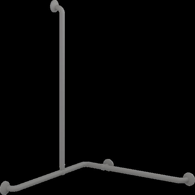 PLUS håndgrebshjørne med lodret greb 762 x 762 x 1090 mm