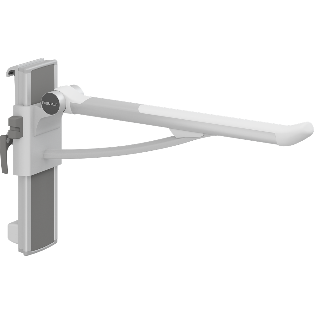 PLUS support arm, 700 mm, left hand operated