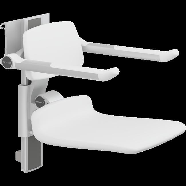 PLUS Duschsitz 450, manuell höhenverstellbar und seitlich verschiebbar
