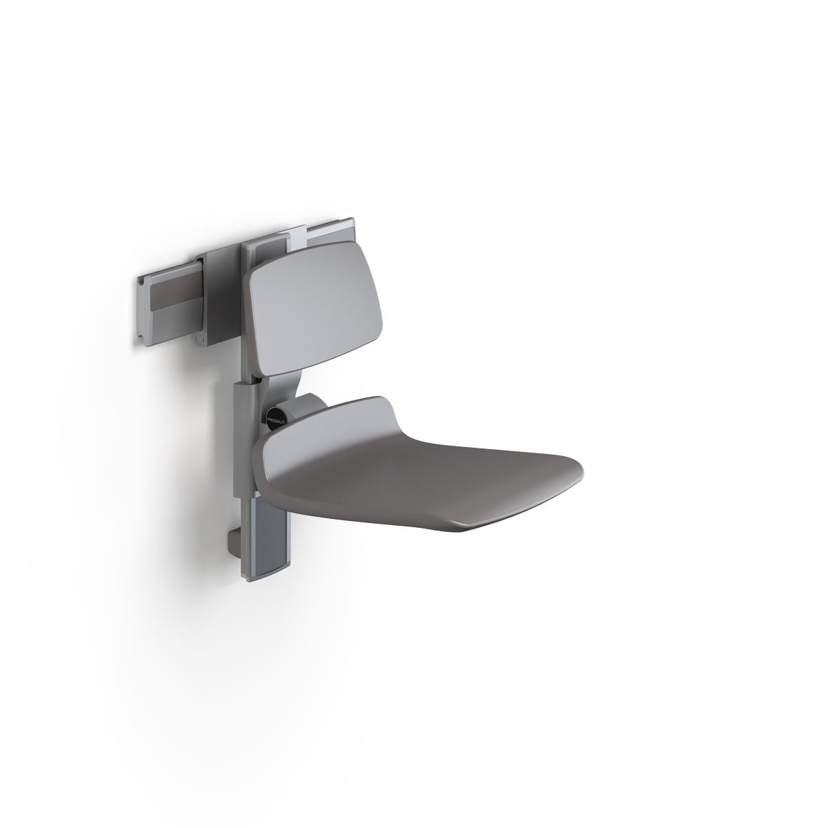 PLUS shower seat 450, manually height and sideways adjustable