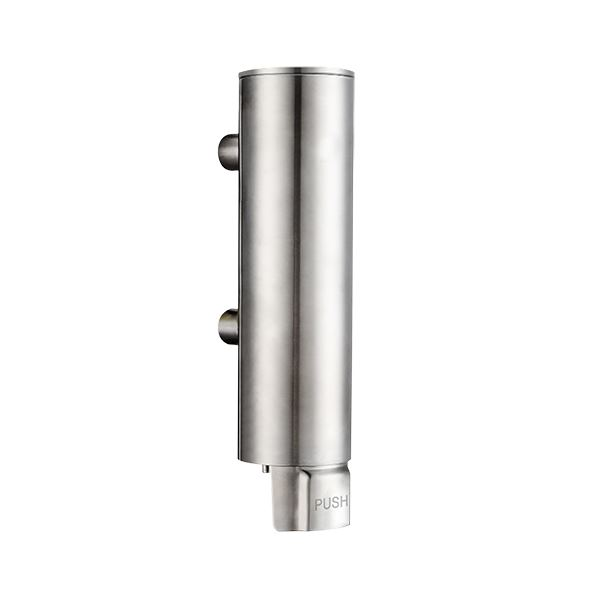 Soapdispenser, 330 ml, stainless steel