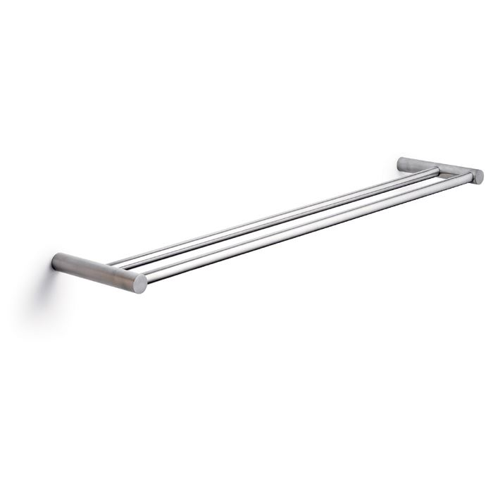 Towel holder, double, 60 x 12 cm, stainless steel