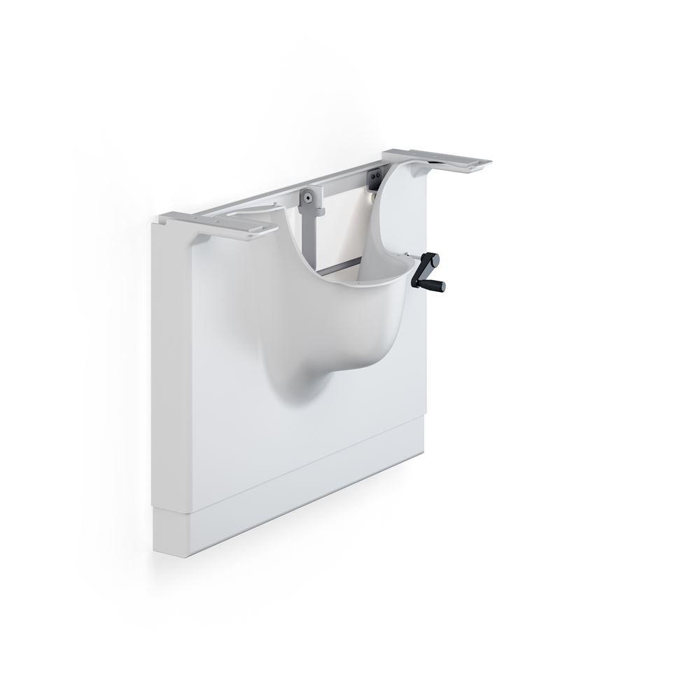 MATRIX manual basin unit, right-facing