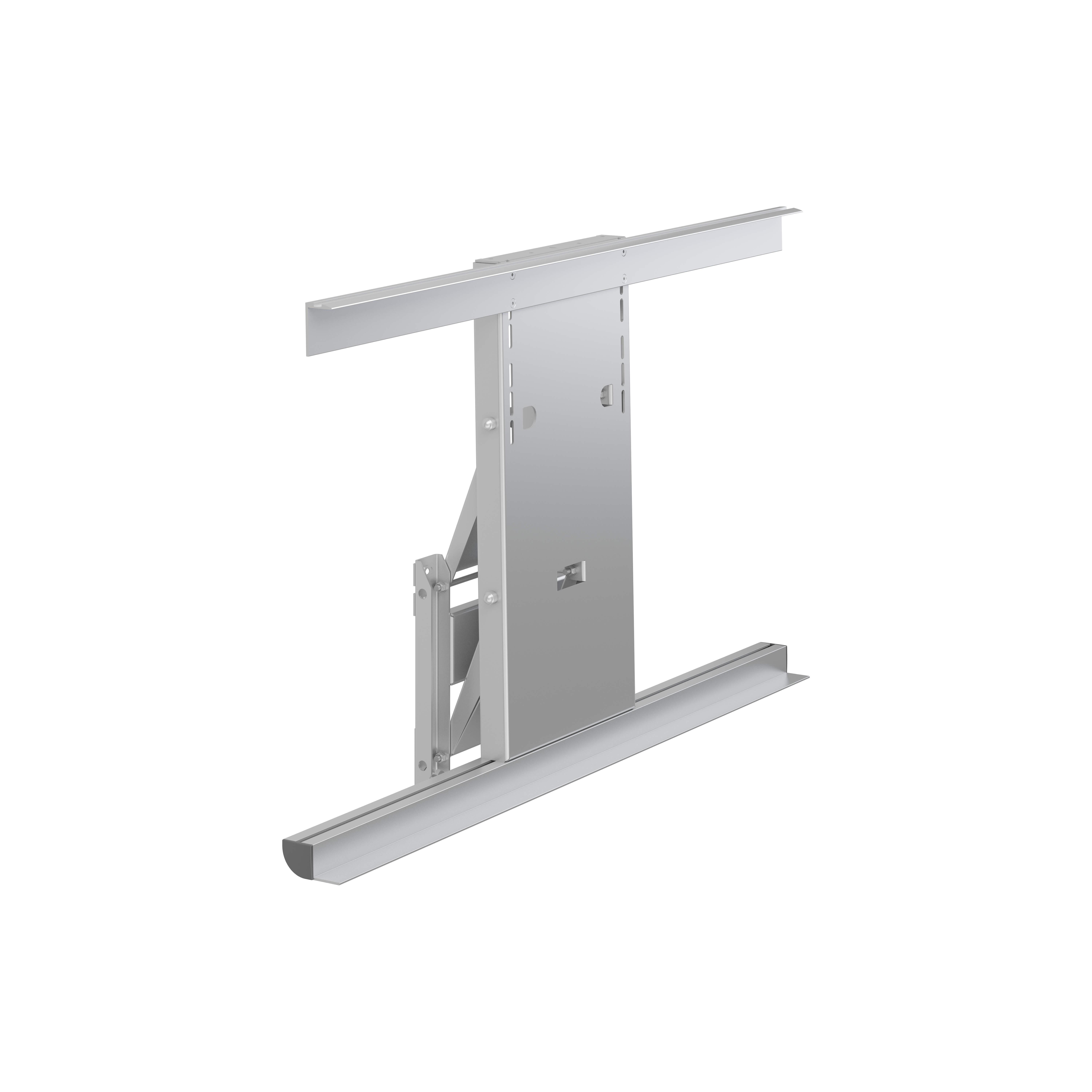 Lift for wall cupboard, electrically height adjustable