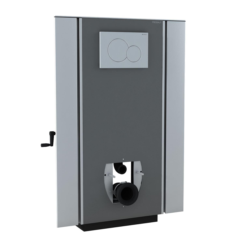 SELECT ensembles WC réglables en hauteur par manivelle, sortie horizontale