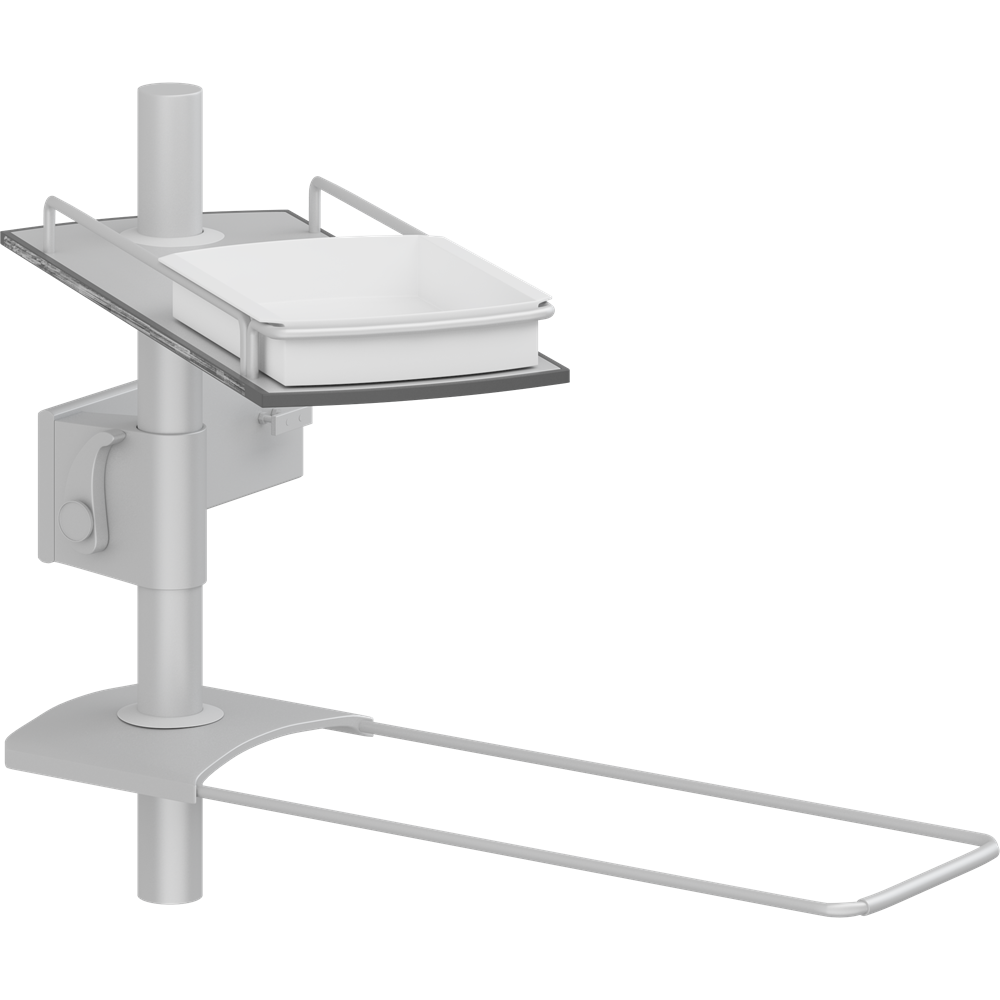 Modular shelves for PLUS wash basin bracket, 400 mm rod
