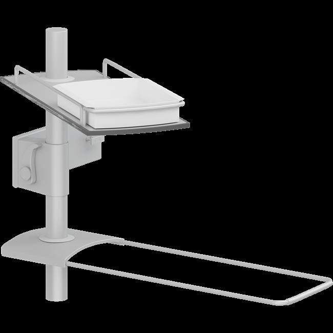 Modular shelves for PLUS wash basin bracket, 400 mm rod