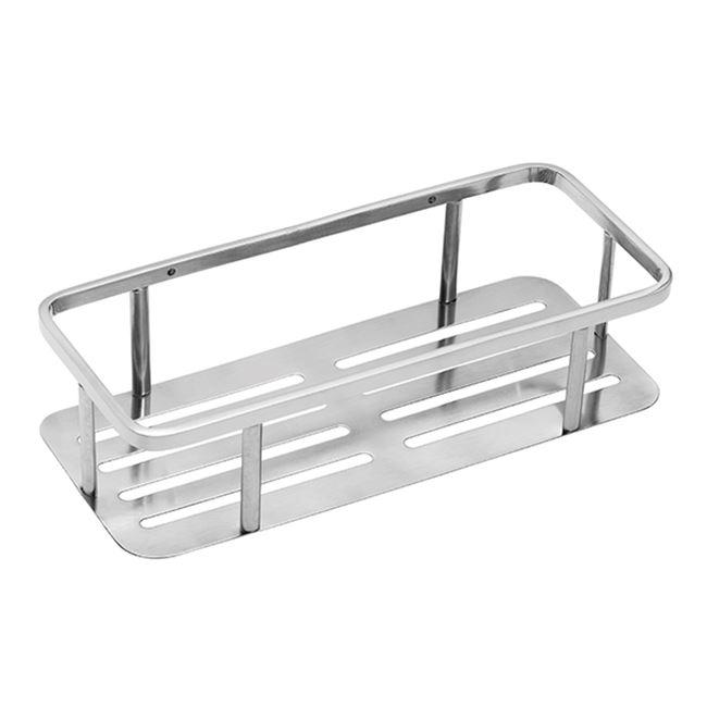 Shelf, polished stainless steel
