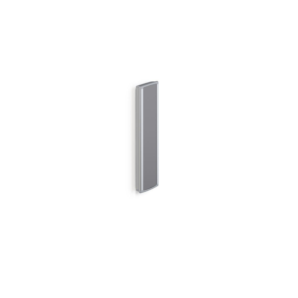 PLUS glissière-support, 400 mm, crantée à droite, pour montage vertical