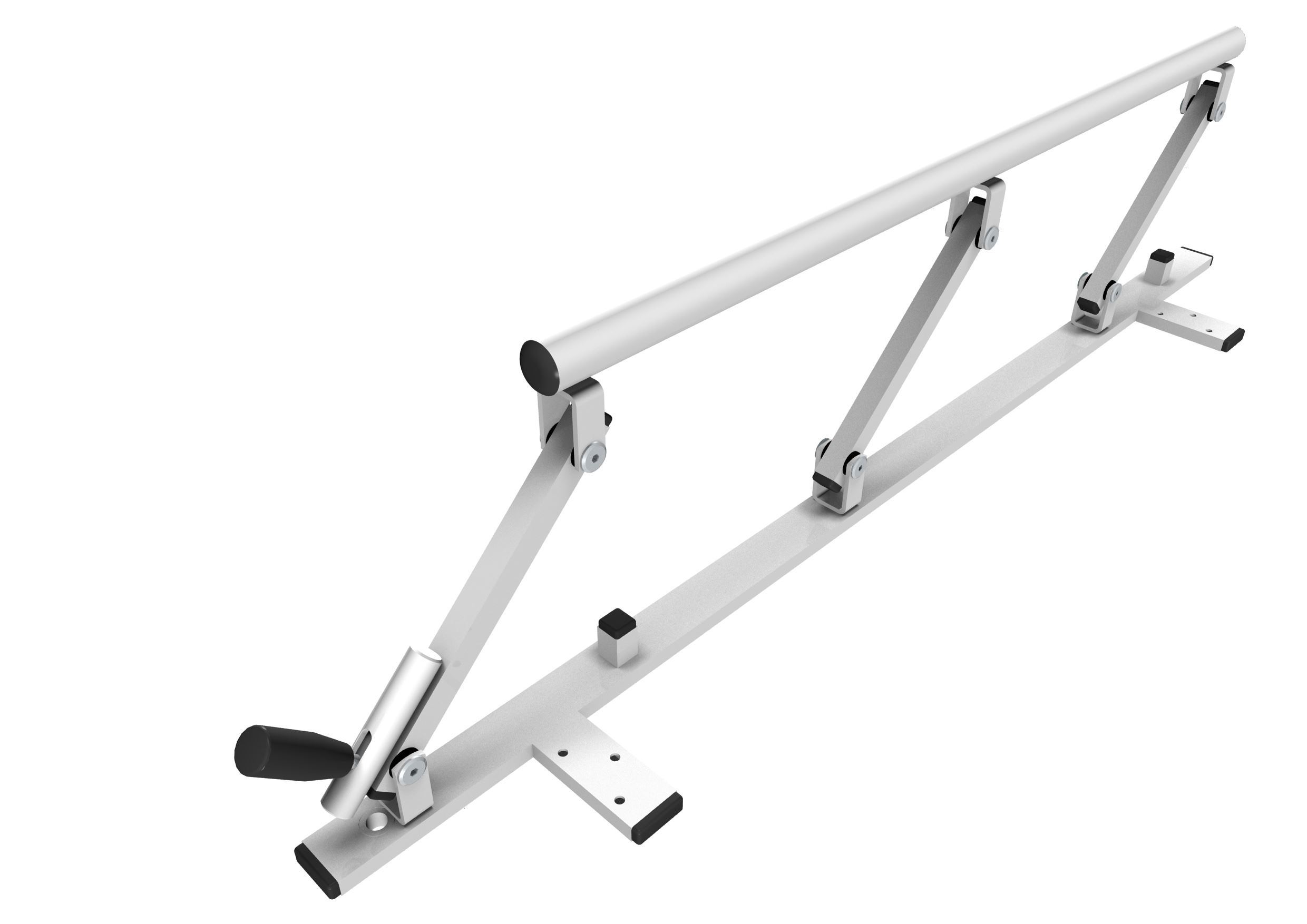 Safety rail 900 mm, foldable