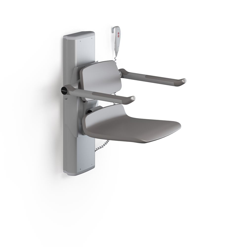 PLUS shower seat 450, electrically height adjustable
