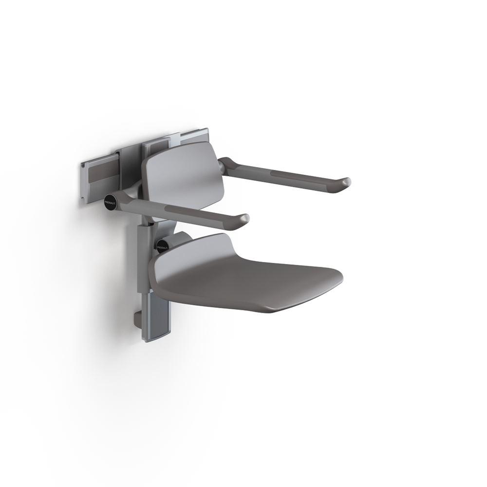 PLUS siège de douche 450, réglable en hauteur manuellement et latéralement