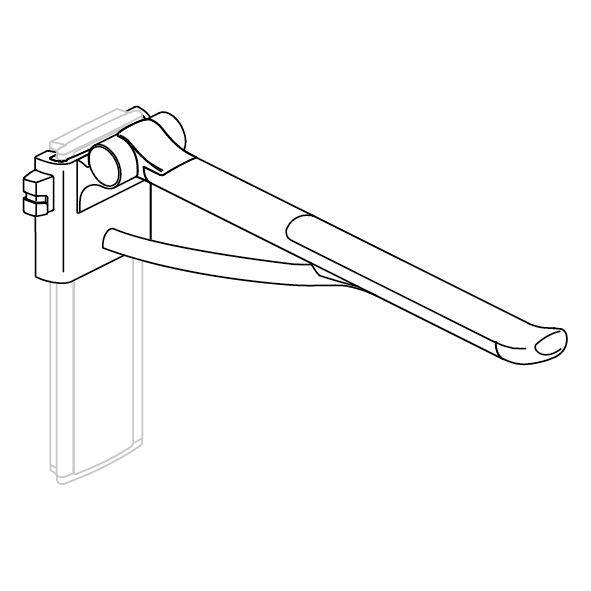 PLUS support arm, counter-balanced, height adjustable