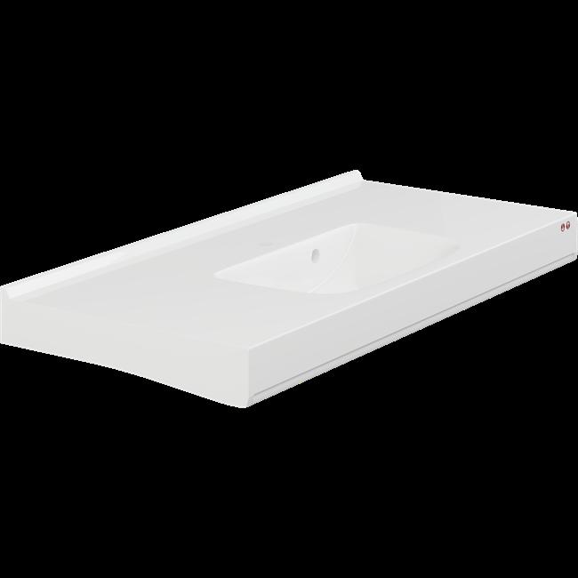 MATRIX SQUARE håndvask med overløb, til elektrisk ophæng