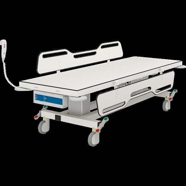 MCT 2 mobilt skifteleje , elektrisk højderegulérbart