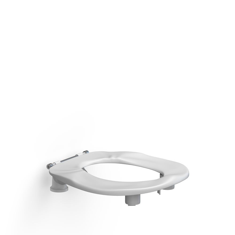 Toilet seat Ergosit without cover, 50 mm raised