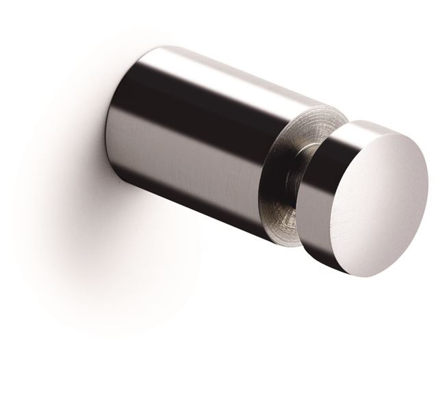 Towel hook, 2 pcs., polished stainless steel